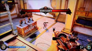 Gameplay in BioShock Infinite feels much like that of earlier BioShock games.